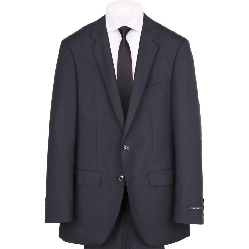 【JOHNPEARSEBlackSELECTLINE】2釦シングルスーツ/ブラック×ソリッド/SHOWERCLEAN