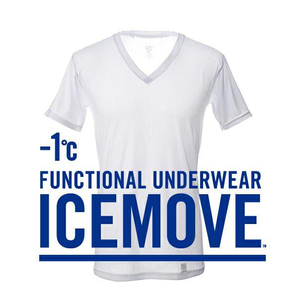 【ICEMOVE】【Tシャツ】アンダー(ホワイト)